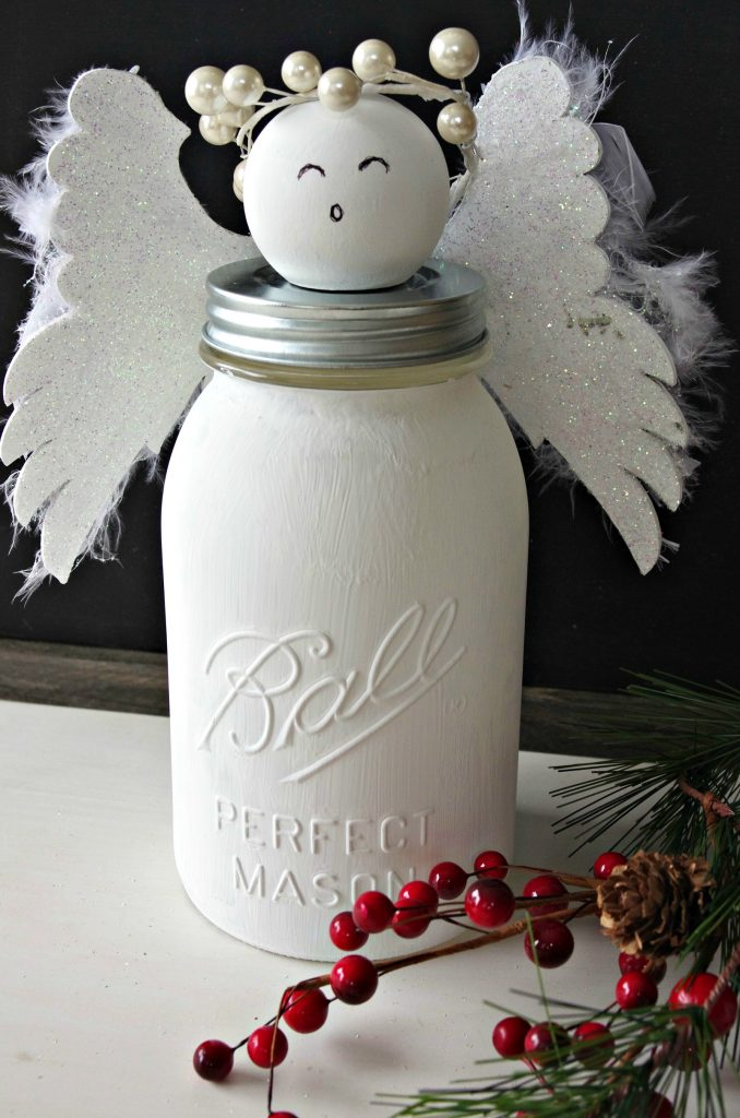 How to Make a Mason Jar Angel