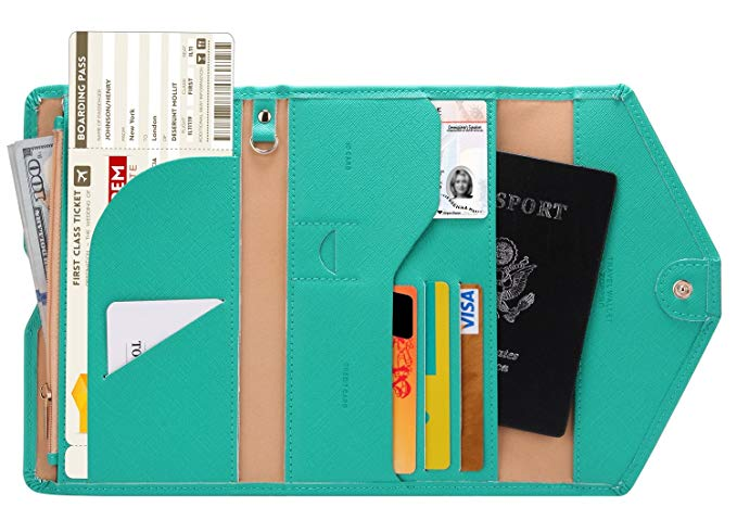 Travel Wallet With Passport Holder