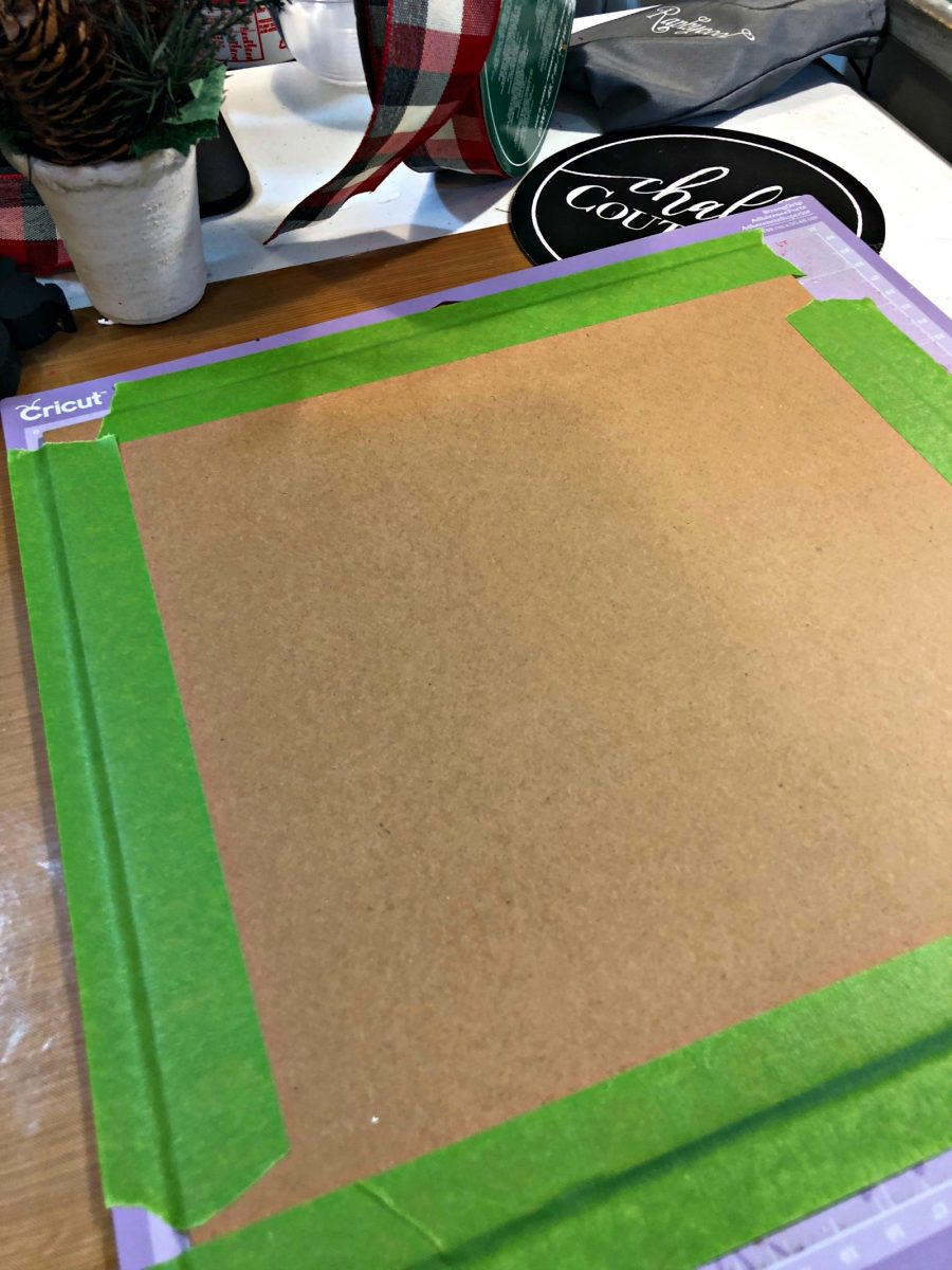 how to cut chipboard with cricut maker