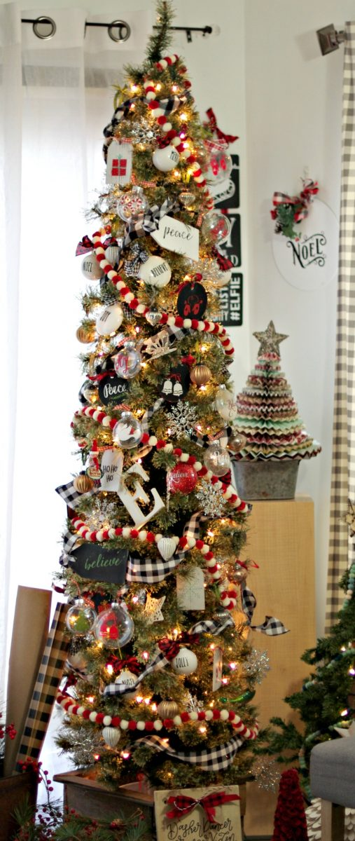 Perfect Christmas Tree for a small space