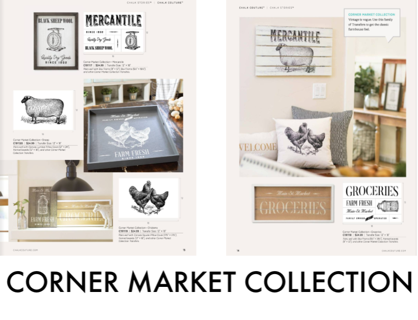 Corner Market Collection from Chalk Couture