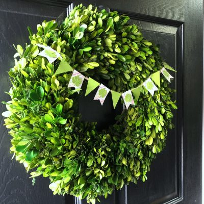 Mini Wreath Banner