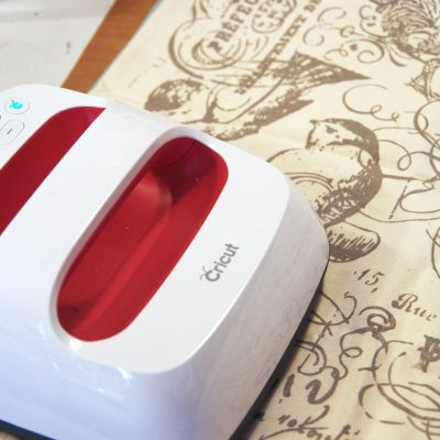 Use the Cricut EasyPress to Heatset Inked Designs