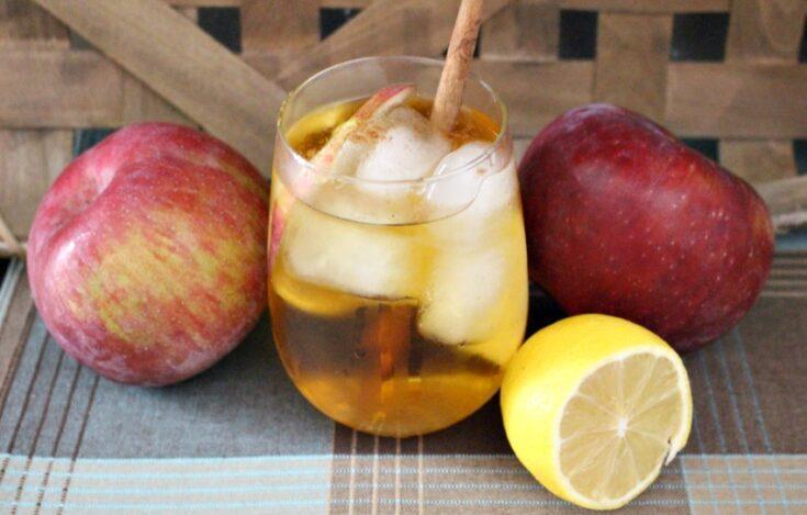 Make A Tasty Apple Cinnamon Mezcal Margarita Our Crafty Mom