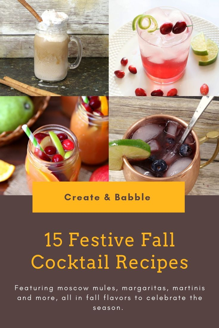 15 festive fall cocktails