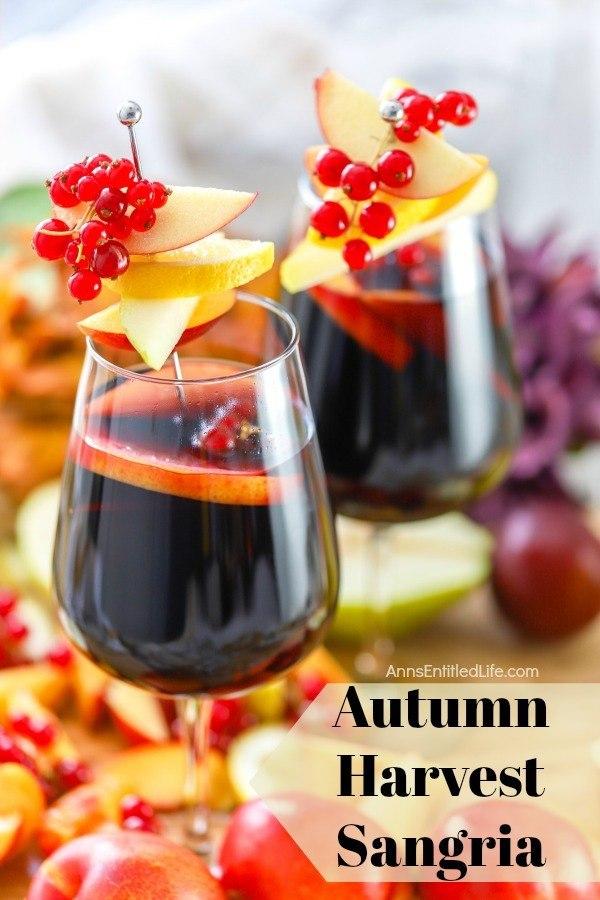 Autumn Harvest Sangria Recipe
