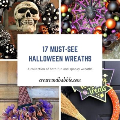 17 Fun And Easy To Make Halloween Wreaths