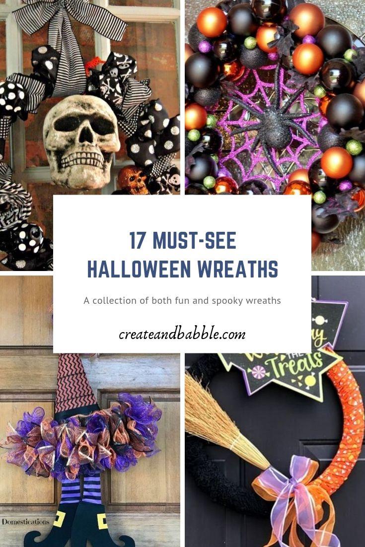 17 Must-See HALLOWEEN WREATHS