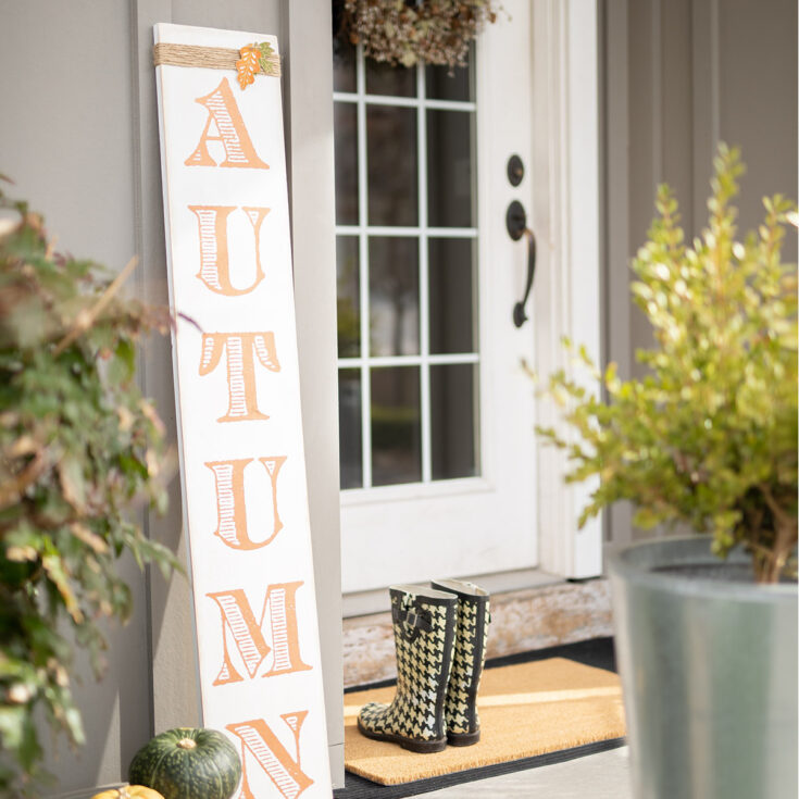 How to Make Porch Signs