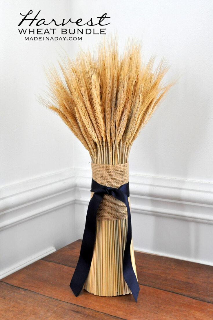 DIY Harvest Wheat Bundle