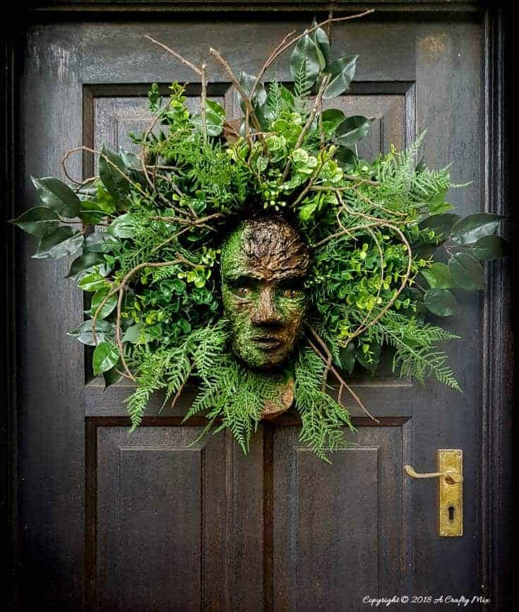 Spirit of the Forest Wreath - DIY Tutorial