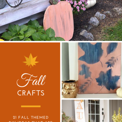 21 DIY Fall Crafts That Are Easy To Make