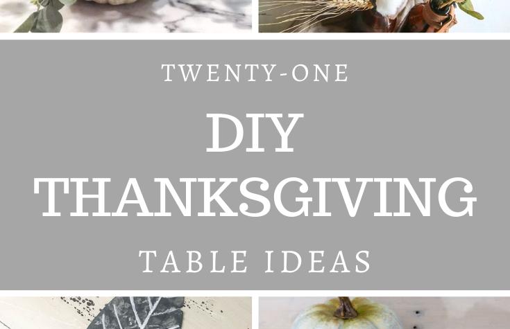 21 Thanksgiving table ideas
