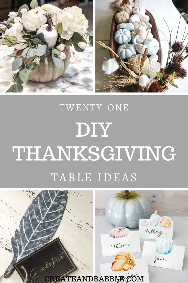 21 Thanksgiving table ideas