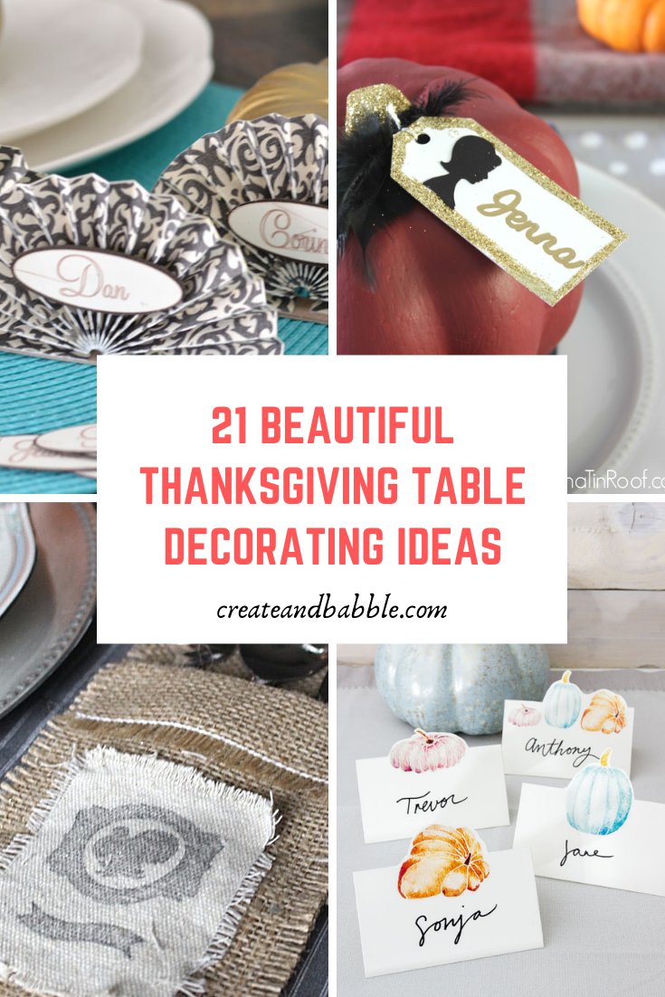 21 beautiful thanksgiving table ideas