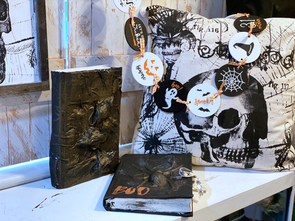 How to Make a Spooky Halloween Altered Book