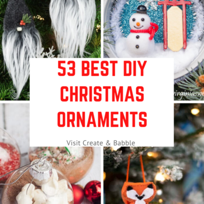 53 Of The Best DIY Christmas Ornaments