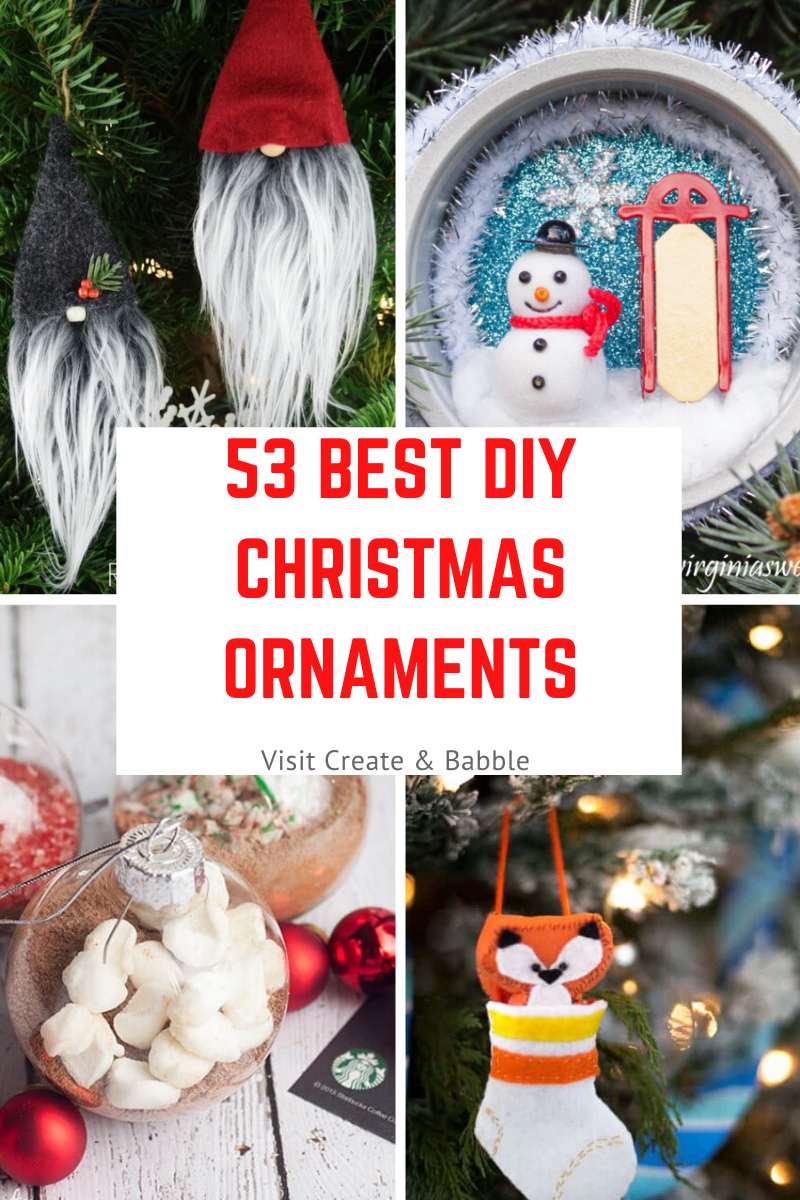 53 Christmas Ornaments pin