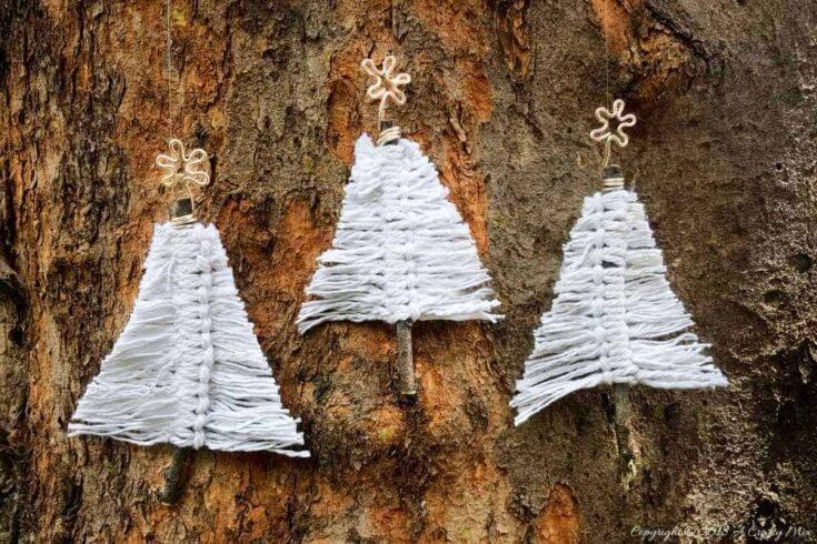 Boho Macramé Christmas Trees - Beginner Tutorial