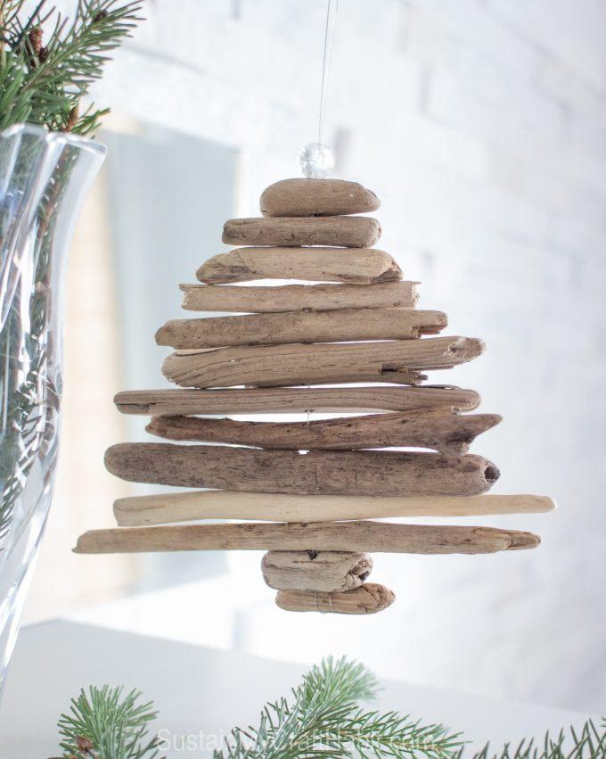 Miniature DIY Driftwood Tree Ornament