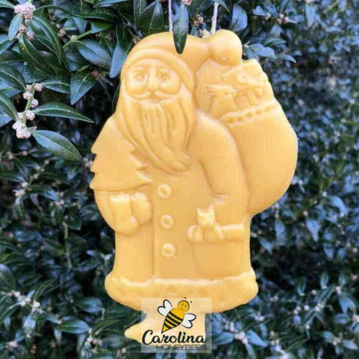 DIY Beeswax Christmas Ornament