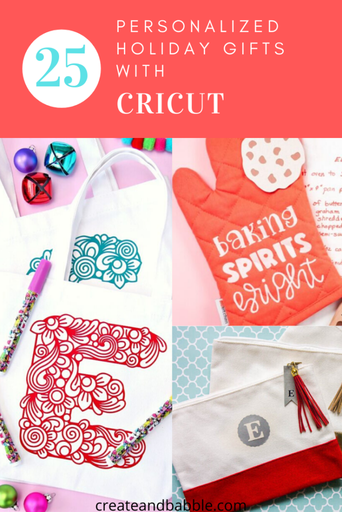 25 personalized cricut gifts