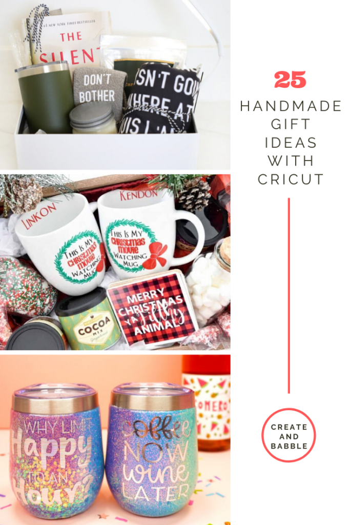 25 personalized cricut gifts for the holidays