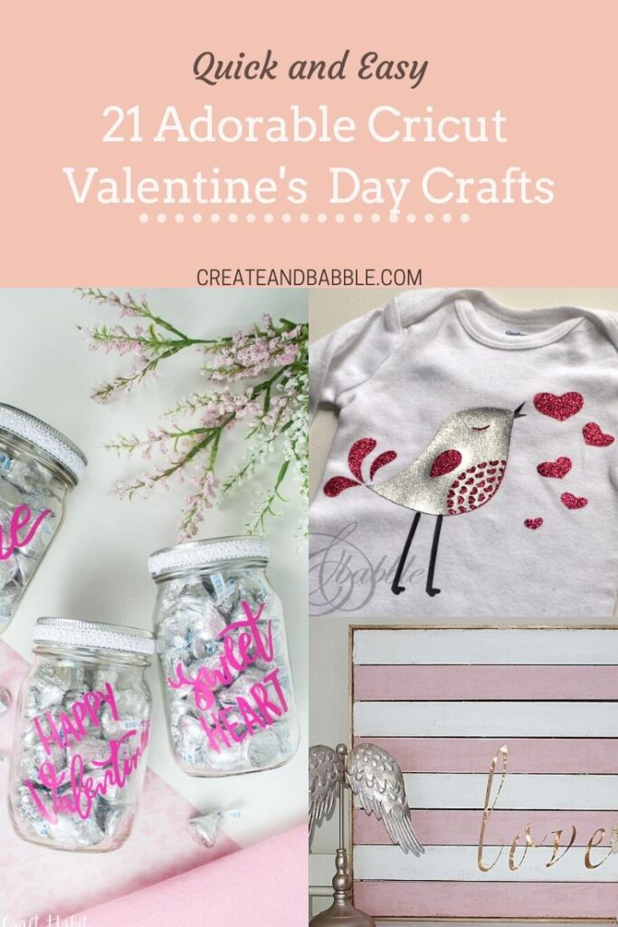 cricut valentine's day crafts