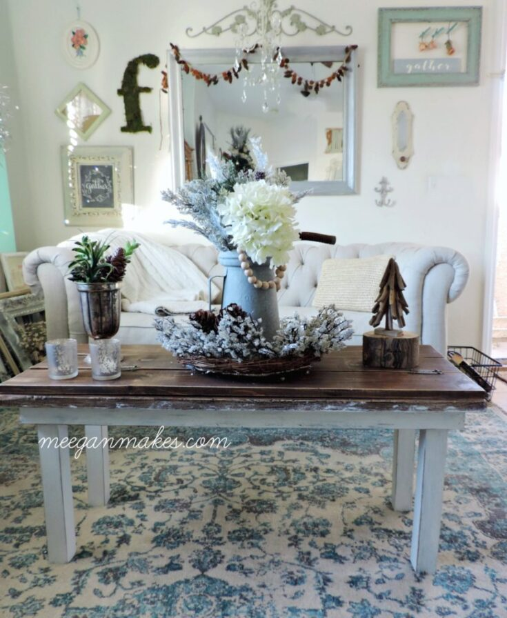 Winter Decor For The Living Room