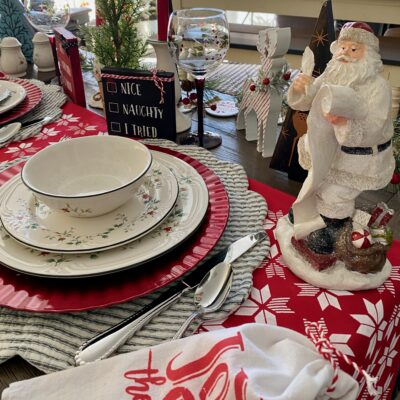 Five Pretty Christmas Tablescapes